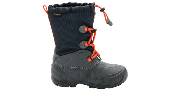 Jack Wolfskin Iceland Winter Boots Kids Texapore High dark sky